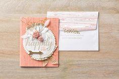 Stampin' Up! - Big News Stamp Set - Wedding Card