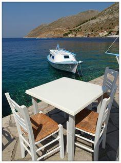 Photo Mania Greece: Σύμη (Symi) Outdoor Tables, Outdoor Decor, Greece, Outdoor Furniture, Country, Beautiful, Home Decor, Greece Country, Decoration Home