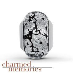 Kay - Charmed Memories Murano Glass Charm Sterling Silver