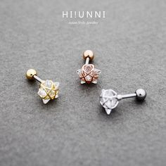 16g Crystal Wire Frame Star Barbell Ear Piercing Stud, cartilage earring tragus lobe conch piercing / labret bar (optional) by HiUnni on Etsy https://www.etsy.com/listing/259620515/16g-crystal-wire-frame-star-barbell-ear