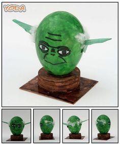 Yoda Easter Egg @Sherry St. Onge