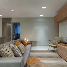 Sala De Estar - Apartamento Compacto : Salas de estar modernas por Renata Basques Arquitetura e Design de Interiores