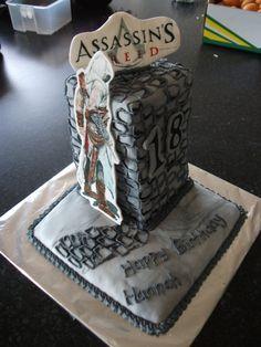 Assassins creed cake