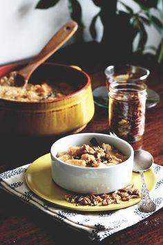 amaranth pumpkin porridge | from the land that we live on