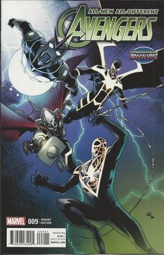 Marvel All New All Different Avengers comic issue 9 Limited variant