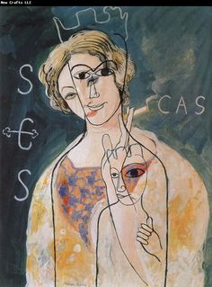 Francis Picabia (French, - Woman with a Cigarette (aklso knowns as The Virgin of Montserrat), 1928 Marcel Duchamp, Man Ray, Art And Illustration, Illustrations, Tristan Tzara, Hans Richter, Francis Picabia, Figurative Kunst, Max Ernst