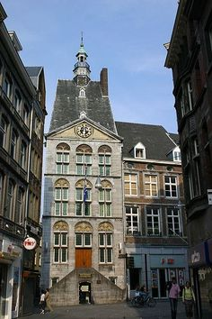 """Dinghuis"", Maastricht, The Netherlands. Our tips for 25 things to do in the Netherlands: http://www.europealacarte.co.uk/blog/2012/02/02/what-to-do-in-the-netherlands/"