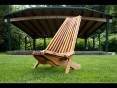 Cedar Lawn Chair - Kentucky stick chair, I made this folding lawn chair out of Cedar. Here are the measurements if you'd like to make one. : Carl Jacobson