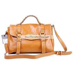 f888eb4802 Mulberry Women s Standard Alexa Leather Satchel Bag Camel