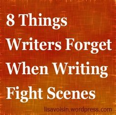 8 Things Writers Forget When Writing Fight Scenes .no, Karakterer, Skrivetips, Skriving, Show don't tell Writing Quotes, Fiction Writing, Writing Advice, Writing Resources, Writing Help, Writing Skills, Writing A Book, Writing Ideas, Writing Workshop