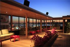 Hudson Terrace - haven't been here yet. A must for this summer!