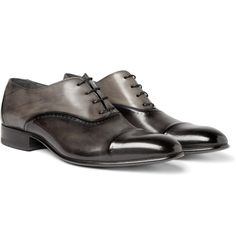 Lanvin - Brushed Leather Oxford