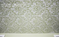 Stenciled Ceiling – Not JUST A Housewife