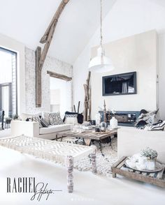 My living room: Decoration & Ambiance – RachelStyliste - New Deko Sites Living Room On A Budget, Cozy Living Rooms, Living Room Modern, Interior Design Living Room, Living Room Designs, Living Room Furniture, Living Room Decor, Small Living, Trendy Home