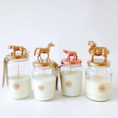 Metallics candle range by candi&co. (Facebook.com/Candiandco.nz)