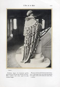 Battick - Georges Lepape 1911 L'Art de la Robe, Paul Poiret