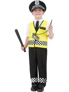 He'll love dressing up as a police officer in this child cop costume. Cop Costume, Dress Up Costumes, Police Officer Fancy Dress, Police Officer Costume, Police Costumes, Childrens Fancy Dress, Fancy Dress For Kids, Cops And Robbers Costume, Kids Police