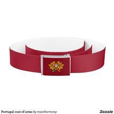 Portugal coat of arms belt