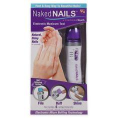 Naked Nails™ Manicure System - BedBathandBeyond.com 14.99