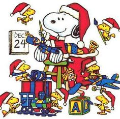 snoopy and woodstock xmas