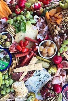 Perth events stylist reveals secrets to perfect platter Party Food Buffet, Party Food Platters, Food Trays, Dried Pears, Caramelized Onion Dip, Charcuterie Board, Antipasti Board, Kinds Of Fruits, Grazing Tables