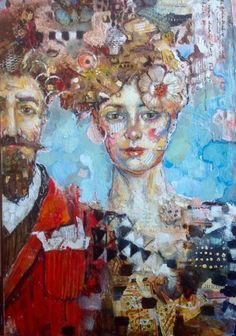 Buy The Marriage, Mixed Media painting by Juliette Belmonte on Artfinder. Discover thousands of other original paintings, prints, sculptures and photography from independent artists.