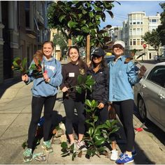 Thank you for teaching us all about the trees in our beautiful city @friendsoftheurbanforest! We had a blast planting, pruning, and learning with you.  We are primarily an internationally focused organization, but we volunteer in our community as much as possible. Do any of you have ideas for our next day of volunteering in SF? #thinkglobally #actlocally #giveyour100