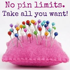 No pin limits! Please DO NOT Pin an entire board all at once! Follow ALL Boards - Return for Fresh Pins daily!