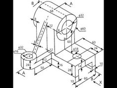 Drawing In نتيجة بحث الصور عن Order paper engineering drawing Mechanical Engineering Design, Paper Engineering, Mechanical Design, Electrical Engineering, Isometric Drawing Exercises, Autocad Isometric Drawing, Oblique Drawing, 3d Drawing Techniques, Orthographic Drawing