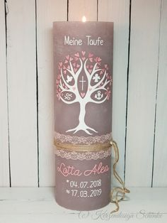 Try These Easy Decorating Tips When Working with Candles Lace Candles, Rustic Candles, Unique Candles, Vintage Candles, Best Candles, Pillar Candles, Unique Candle Holders, Baptism Candle, Communion Gifts