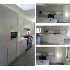 Silver moonlight my favourite kitchen yet that we re sprayed