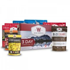 Wise Company 3 Day Weekender Off Grid Emergency Essentials Kit (Camping Pouch, SK Fruit, Shake) Emergency Food Kits, Emergency Food Storage, Survival Food, Survival Supplies, Survival Shelter, Survival Tips, Survival Skills, Wise Food Storage, Fruit Pouches