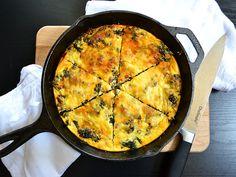 Kale & Chorizo Breakfast Frittata