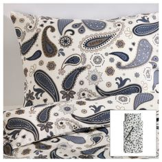 SÖTBLOMSTER Quilt cover and 2 pillowcases - 150x200/50x80 cm - IKEA