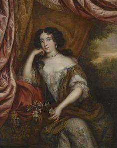 Louise Renée de Penancoët de Kérouaille by Henri Gascar