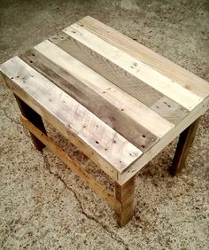 Pallet End Table | 99 Pallets