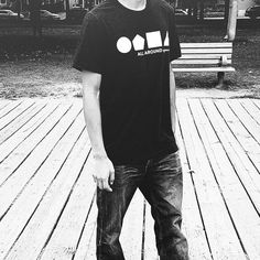Catwalk or boardwalk our tees are the perfect item to wear ALL AROUND  eh eh  9 days until we relaunch!  #allaroundapparel #streetwear #toronto #urban #streetstyle #mensfashion #womensfashion