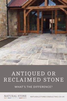 Here at Natural Stone Consulting our expert knowledge helps our customers make informed choices about their natural stone flooring. Our ranges of flagstones in antiqued or reclaimed stone are discussed in the latest blog - helping you decide which style and format is best for your home. Why not pop over there to choose the natural stone tiles you love, and add them to your home inspiration board. #naturalstoneconsulting #naturalstoneflooring #flagstone Stone Slab, Stone Tiles, Flagstone Flooring, Natural Stone Flooring, Paving Stones, Old Stone, Rustic Charm, Ranges, Home Renovation