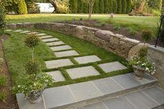 landscape stone and pavers | Stone Path, Paver PathWalkway and PathWheat's LandscapeVienna, VA