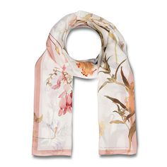 American Botanicals Scarf; Purchase fashionable scarves from The Met Store that are inspired by the Museum's collection.