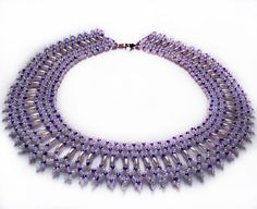Free pattern for necklace Fame | Beads Magic  #Seed #Bead #Tutorials
