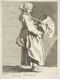 A Woman from Savoy Anne Claude Philippe de Tubières, Comte de Caylus (French, Paris 1692–1765 Paris)