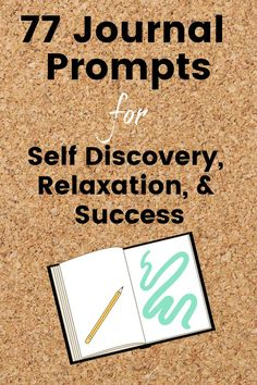 77 Journal Prompts for Self-Discovery, Relaxation, & Success - Organized Mind + Life Bullet Journal Entries, Bullet Journals, Journal Prompts For Kids, Career Quotes, Success Quotes, Writing Goals, How To Stop Procrastinating, Dream Quotes, Daily Inspiration Quotes
