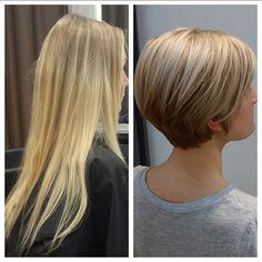 Short Hair With Layers, Layered Hair, Short Hair Cuts, Short Hair Styles, Bob Hairstyles For Fine Hair, Crown Hairstyles, Short Hairstyles For Women, Bob Haircut 2018, Short Bob Haircuts