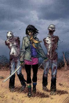 This page shows all the covers of the issues, volumes and special/alternative images. Issues of The Walking Dead typically come out monthly and contain 1 part of a story arc. Story arcs typically last 6 issues. The Walking Dead Comics, Walking Dead Comic Book, Fear The Walking Dead, Twd Comics, Horror Comics, Marvel Comics, Image Comics, Valuable Comic Books, Evil Dead