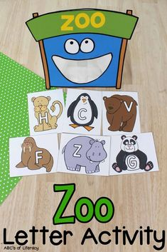 This Zoo Letter Recognition Activity is a fun, hands-on way for your pre-readers to practice identifying capital and lowercase letters.