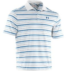 Under Armour Men's Performance Stripe Short Sleeve Polo