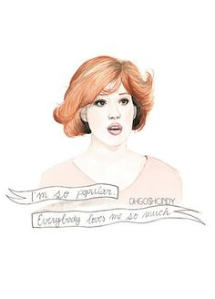 Molly Ringwald in the Breakfast Club Claire by ohgoshCindy on Etsy