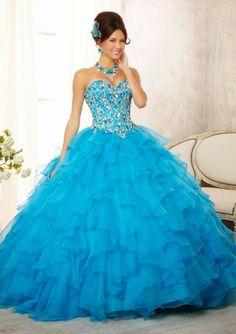 Atractivos Vestidos de 15 años tradicionales | Moda 2014