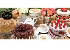 Here's our new Cakes website header.